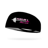 StyleRunnerPHD Collection, Muscles and Mascara Wicking Performance Headband