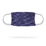 Static Navy Purple Face Mask