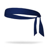 Solid Color Tie Back Wicking Headband