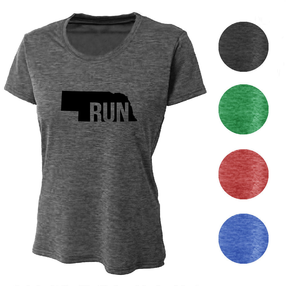RUN Nebraska Wicking T-Shirt Bondi Wear