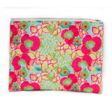 Neon Blooms Pouch