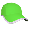 Neon Green Reflective Race Hat