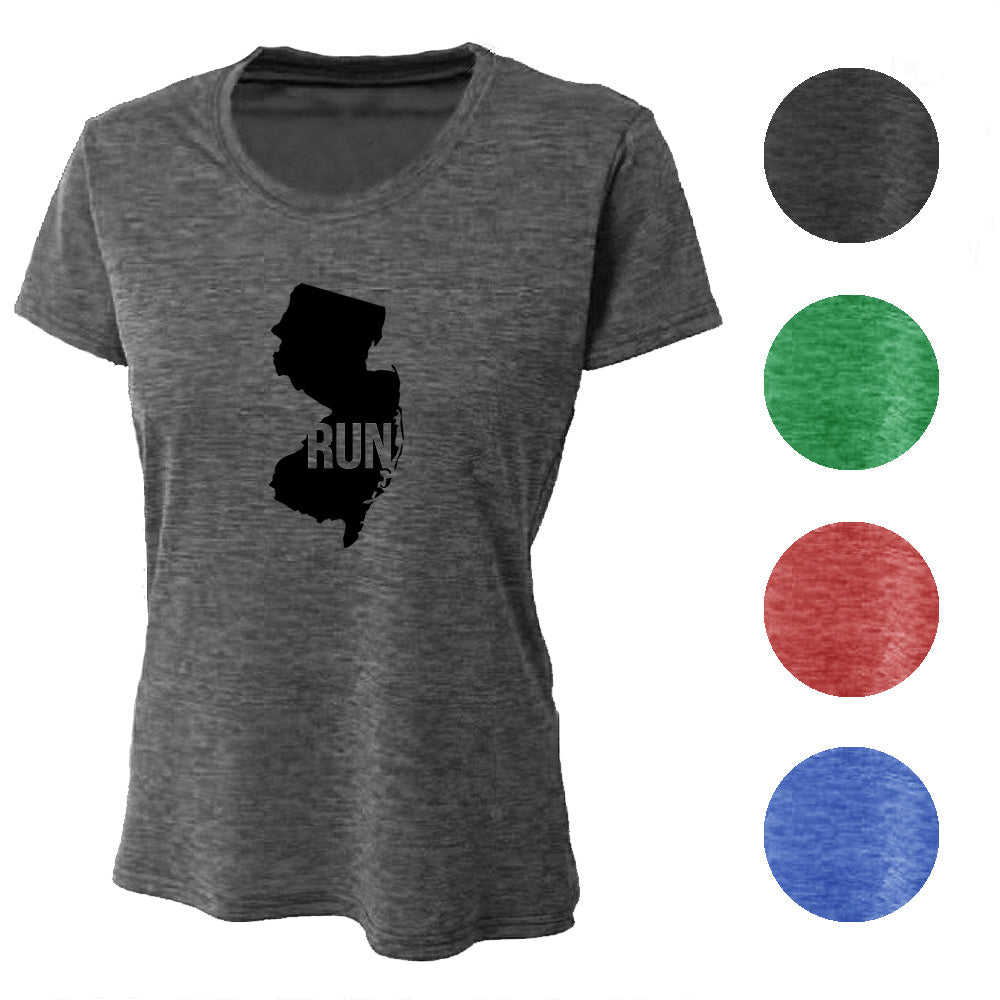 RUN New Jersey Wicking T-Shirt Bondi Wear