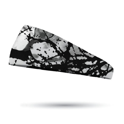 Fashion Black and White Static Organic Headband