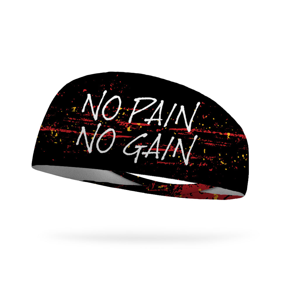 No Pain No Gain Wicking Performance Headband