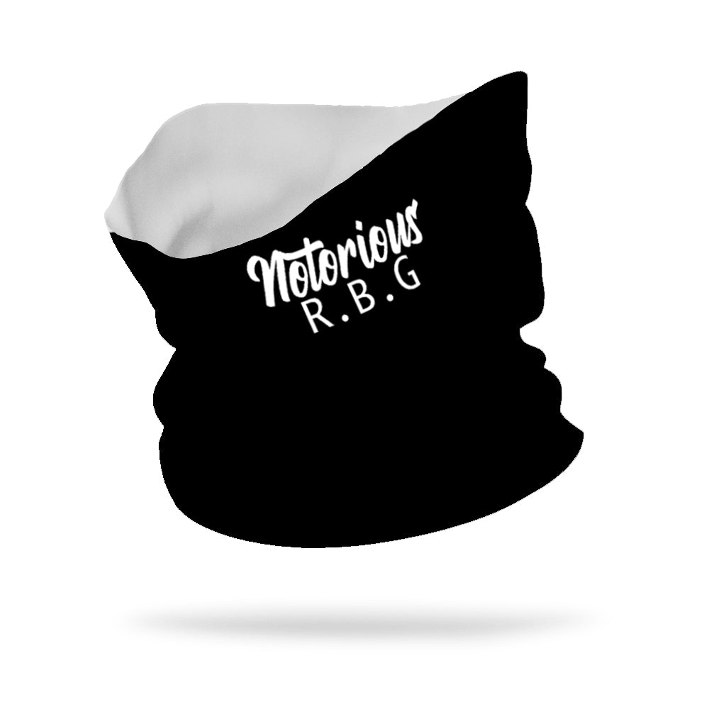 "Notorious RBG Wicking Neck Gaiter 12"" Length"