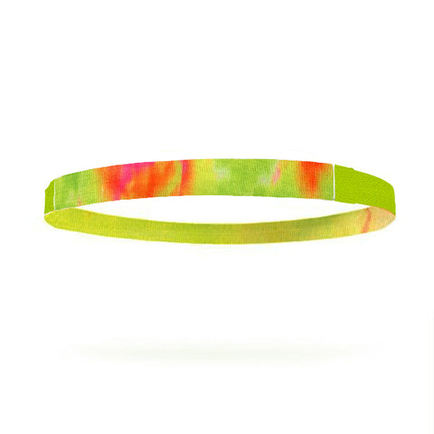 Neon Green Single Braided Skinnyband