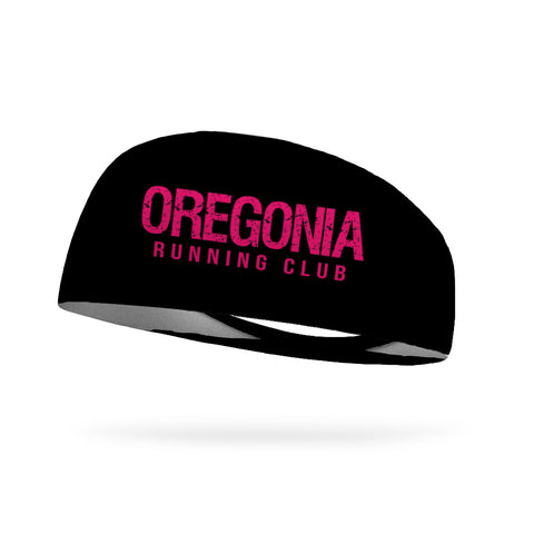 Combo 2 Solid Neon Coral Wicking Performance Headbands