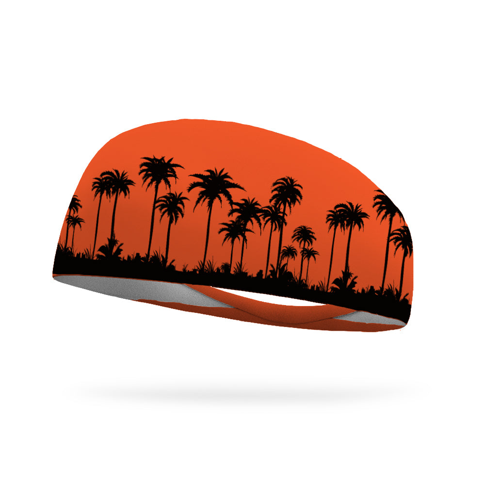 Palm Tree Drive Wicking Performance Headband