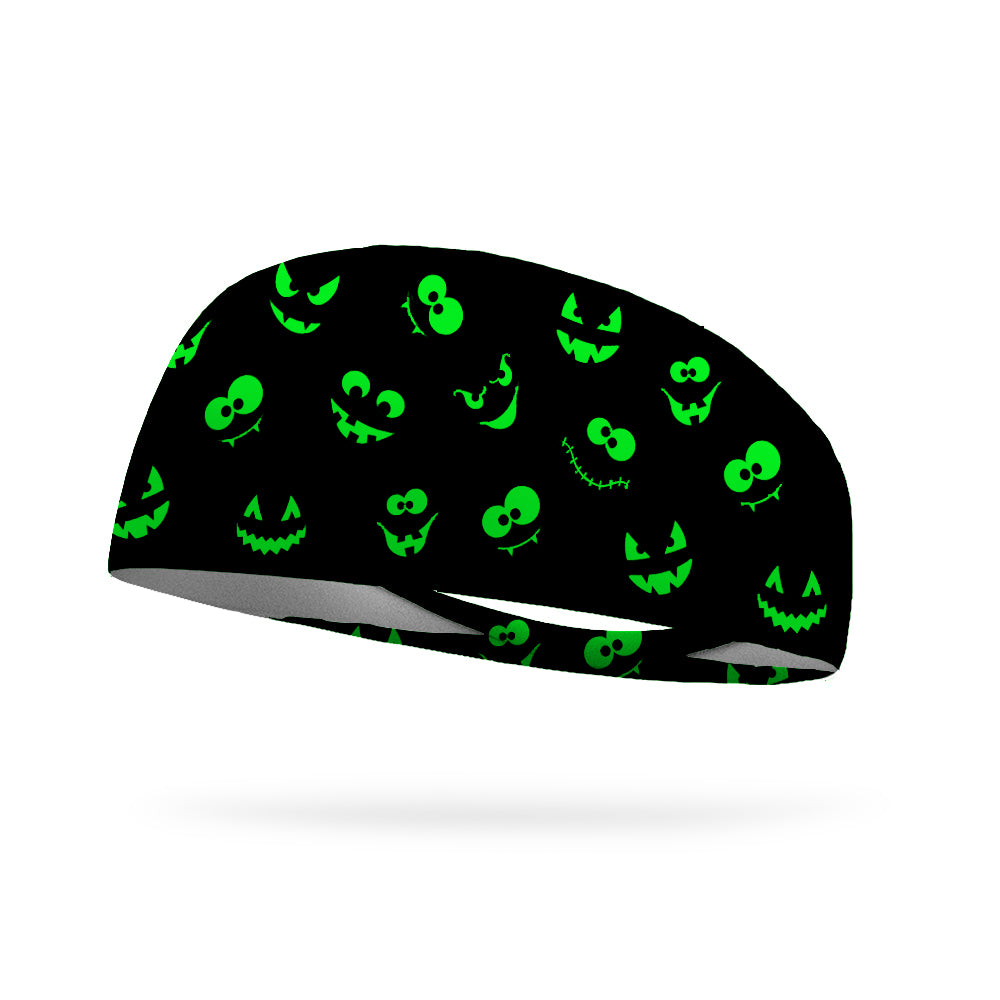 Parade of Jack O' Lanterns Wicking Performance Headband