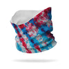 Patriotic Tie Dye Wicking Neck Gaiter