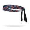 Patriotic Fireworks Wicking Tie Back Headband