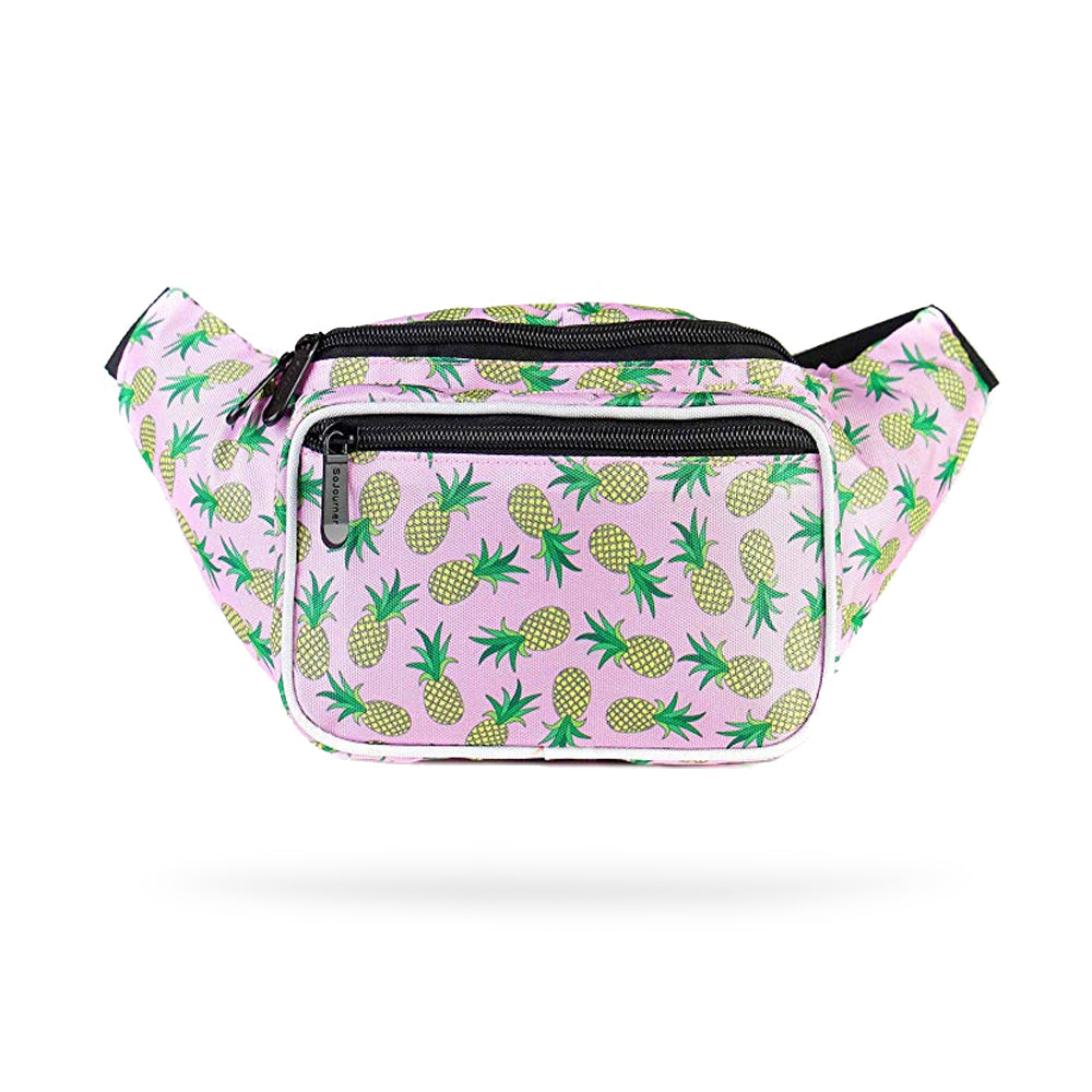 Pineapple Pink Fashion Fanny Pack