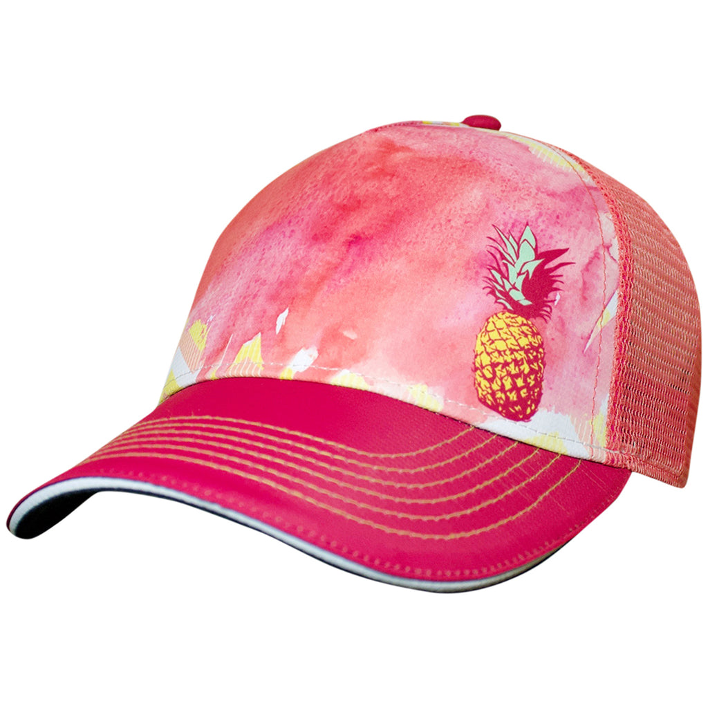 Pineapple Pink Trucker Hat