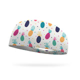 Pineapple Polka Performance Wicking Headband