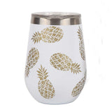 Pineapple Crush 18 oz. Stemless Wine Tumbler