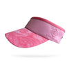 Light Pink Swirl Visor (Add Buttons for Face Mask $2.00)