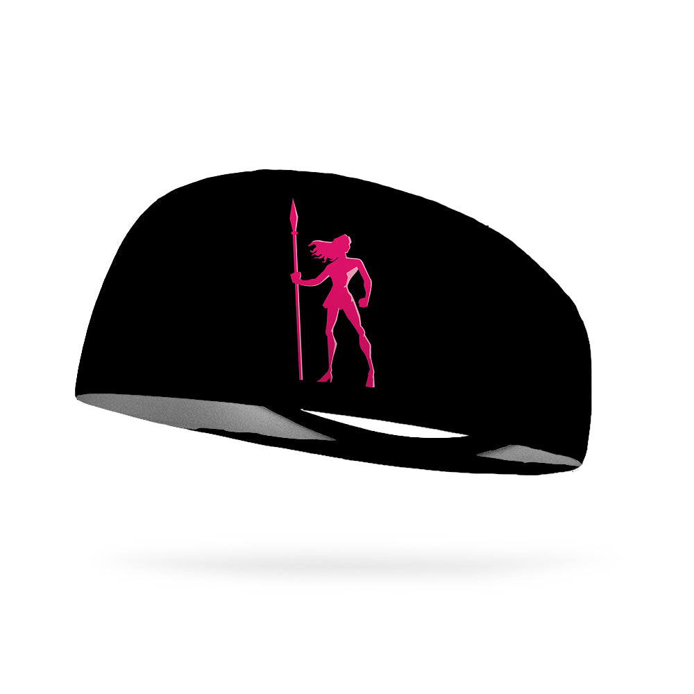 Pink Warrior Wicking Performance Headband