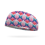 Pink Sizzle Wicking Performance Headband