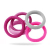 Pinks Jersey Pack of 5 Hair Ties