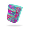 Pixie Paisley Fashion and Aqua Wicking Armband 6.22