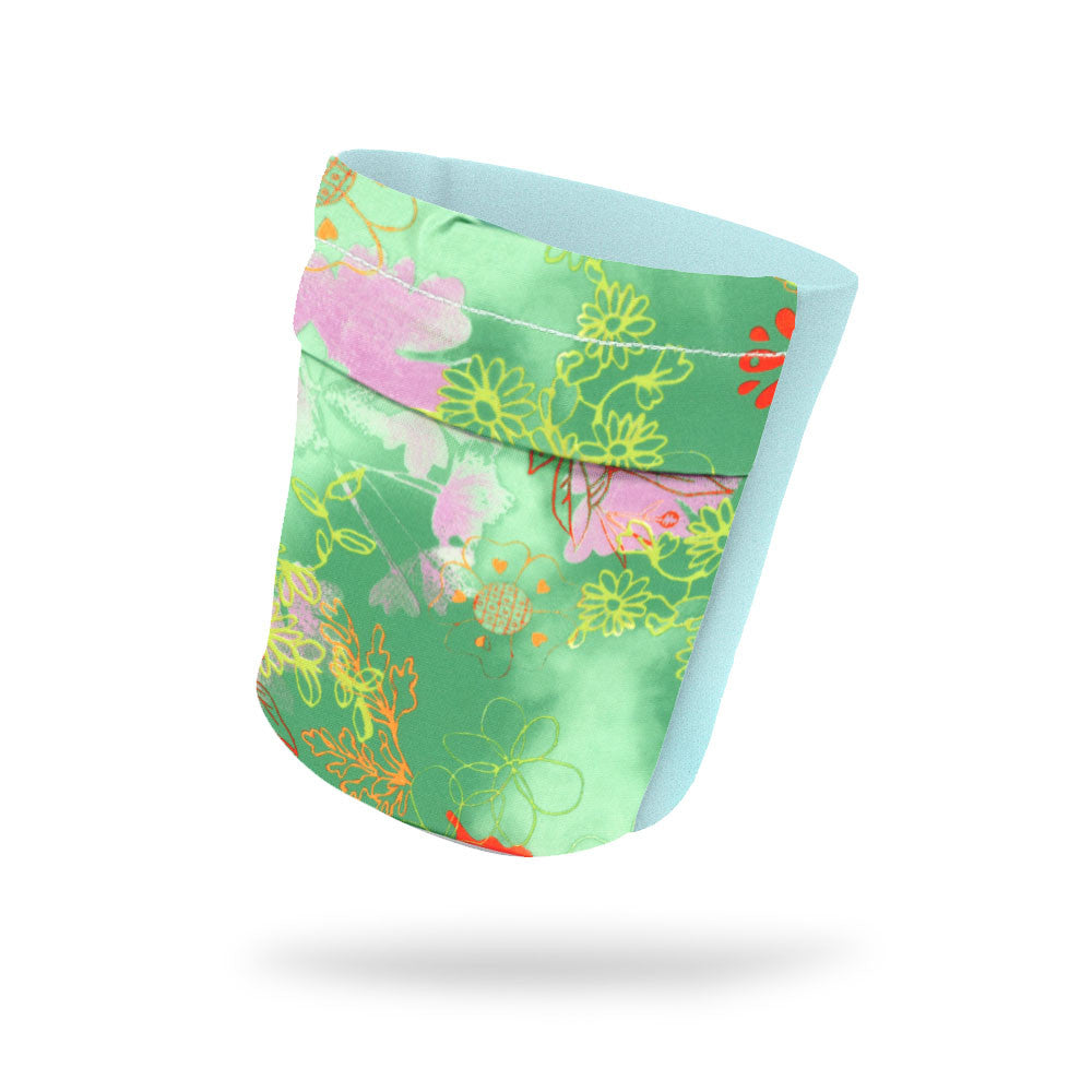 "Pagoda Fashion and Mint Wicking Armband 6.22"" Height"