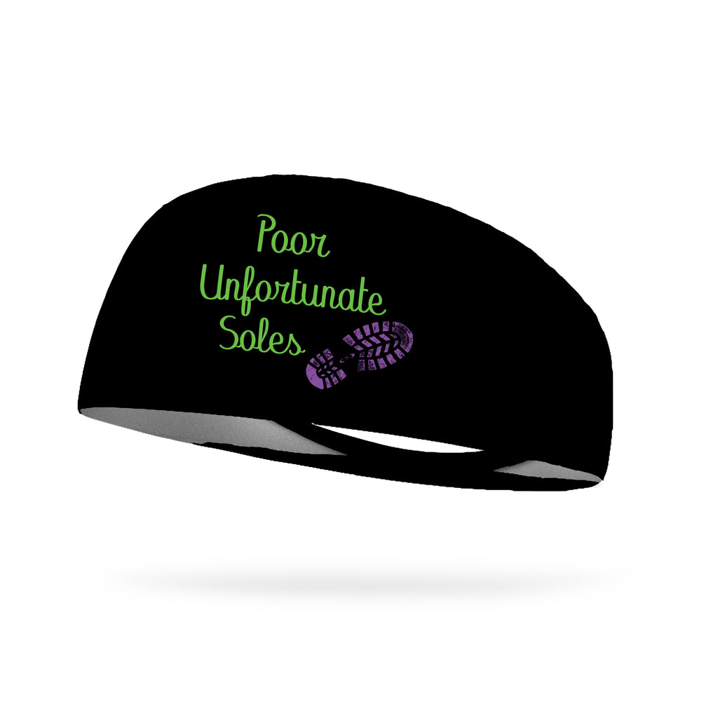 Poor Unfortunate Soles Wicking Performance Headband (Designed by Lindsay Wheeler)