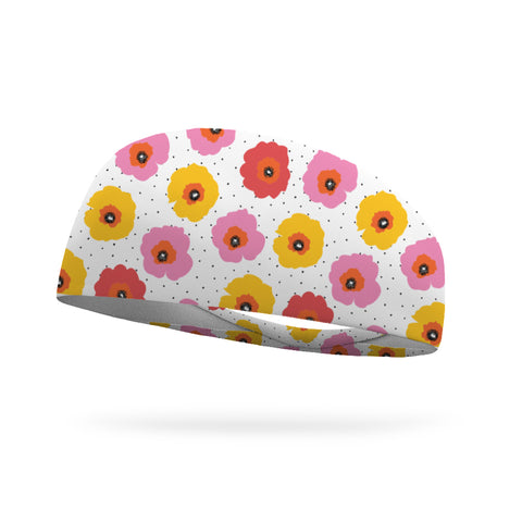 Fashion Dark Petals Headband