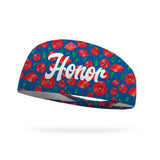 Honor Poppy Wicking Performance Headband