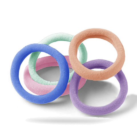 Prime Colors Jersey Pack of 5 Hair Ties