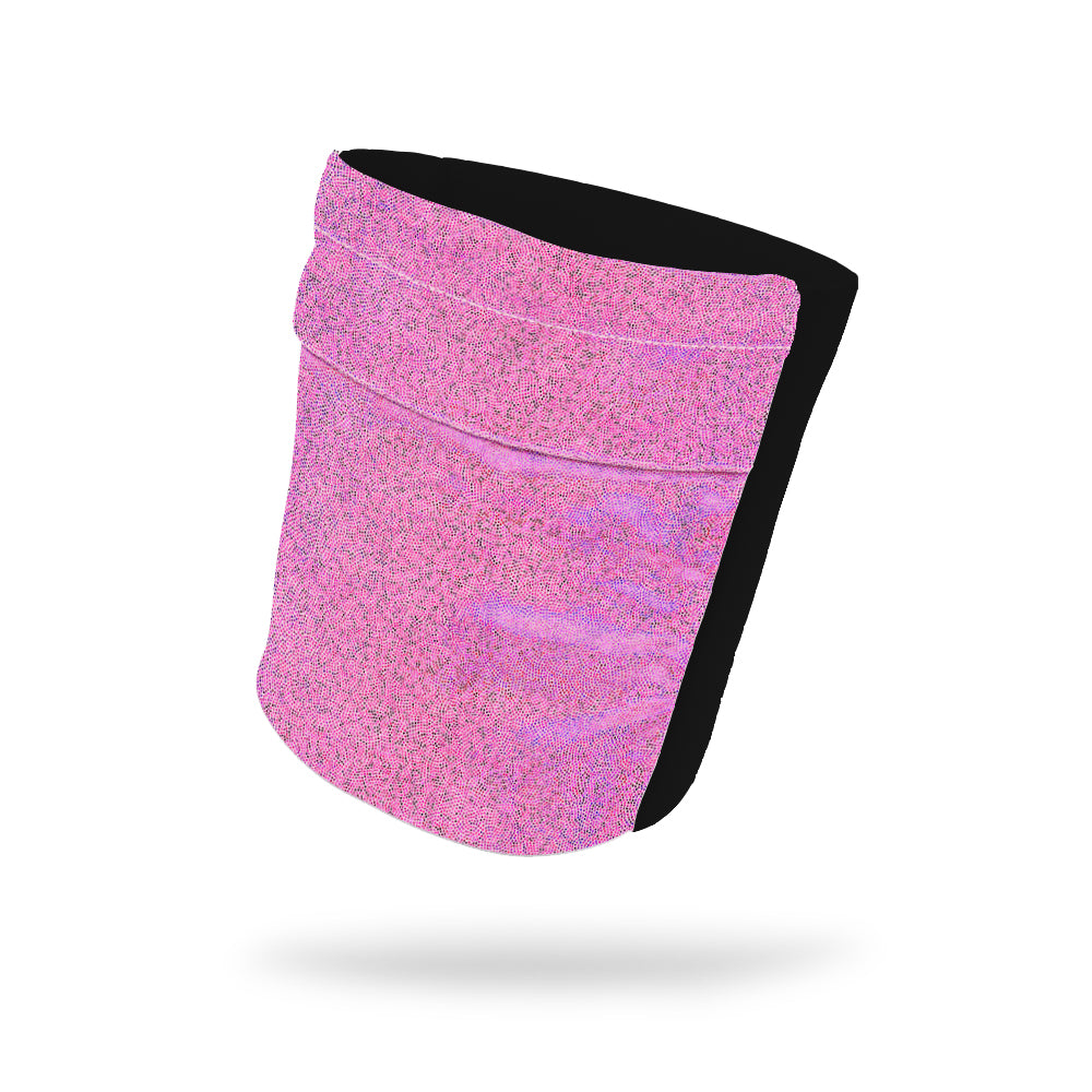 "Princess Pink Shimmer Wicking Armband 6.22"" Height"