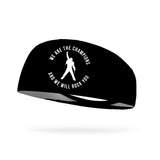 We Are the Champions And We Will Rock You Performance Wicking Headband