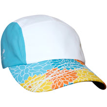 Baha Blue Cheetah Faded Trucker Hat - LIMITED EDITION