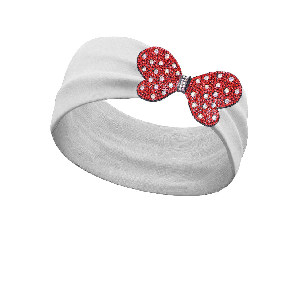 Minnie Dots Red Clip-On Bling (Clip only headband not included)