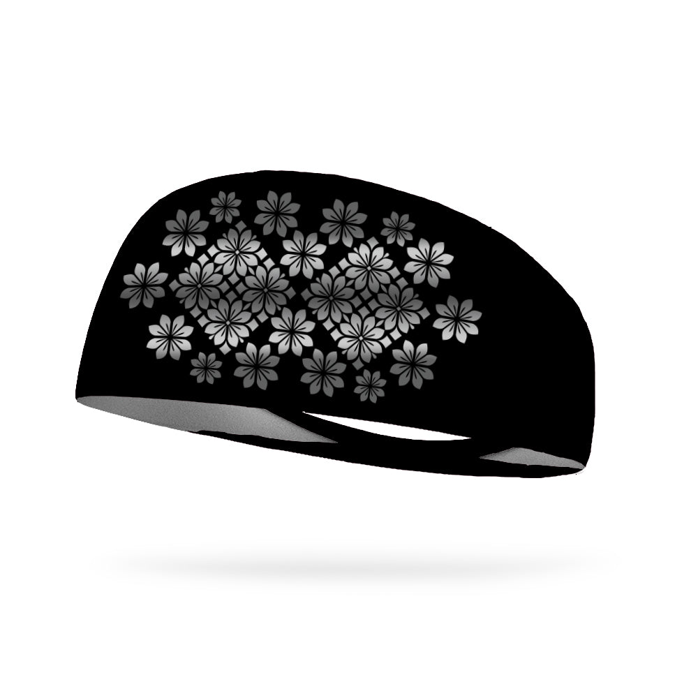 Floral Stars (Reflective Pattern) Wicking Headband