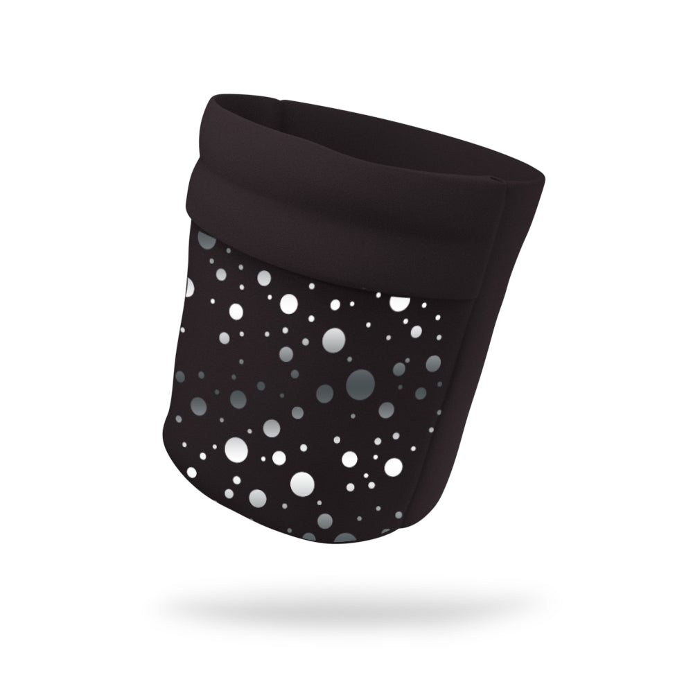 "Reflective Polka Dot Wicking Armband 6.22"" Height"