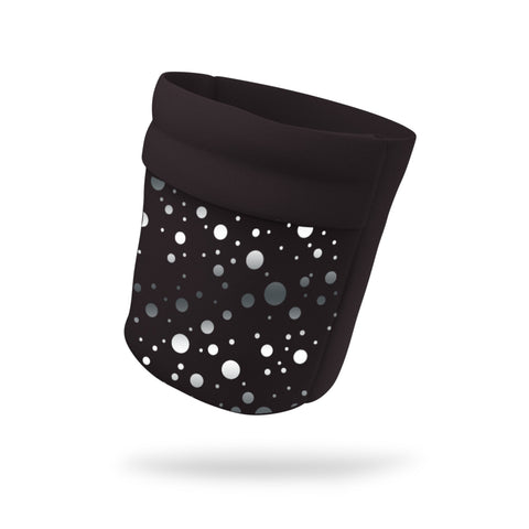 "Lucy In The Sky Fashion and Black Wicking Armband 6.22"" Height"