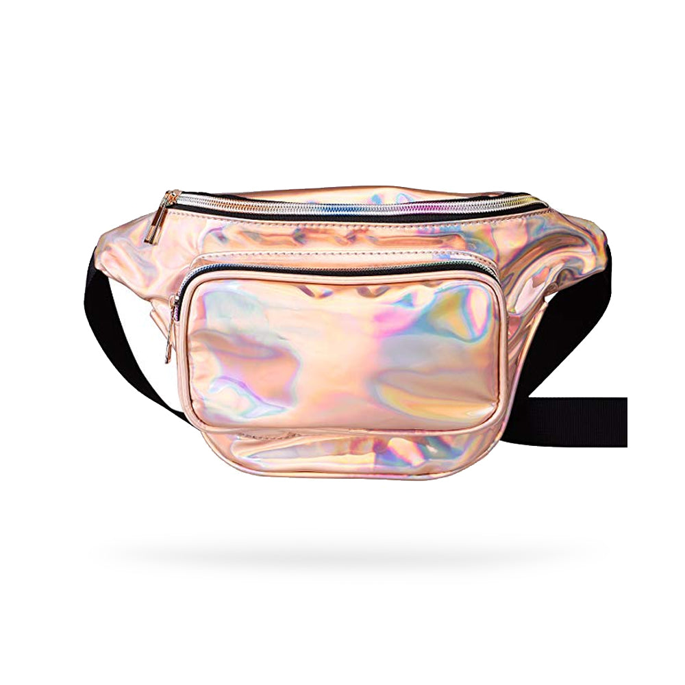 Rose Gold Holographic Fashion Fanny Pack