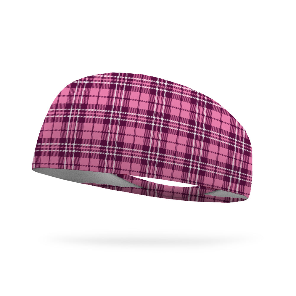 Rosemont Plaid Wicking Performance Headband