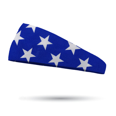 Royal Blue Bandana Performance Wicking Headband
