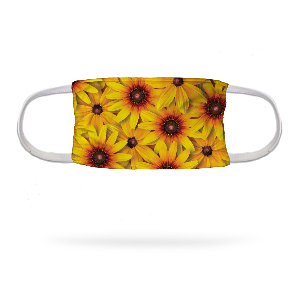Rudbeckia Face Mask