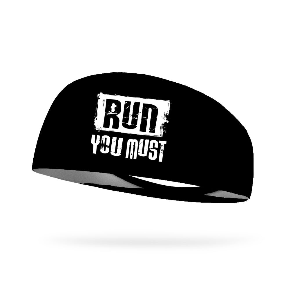 Run You Must Wicking Performance Headband