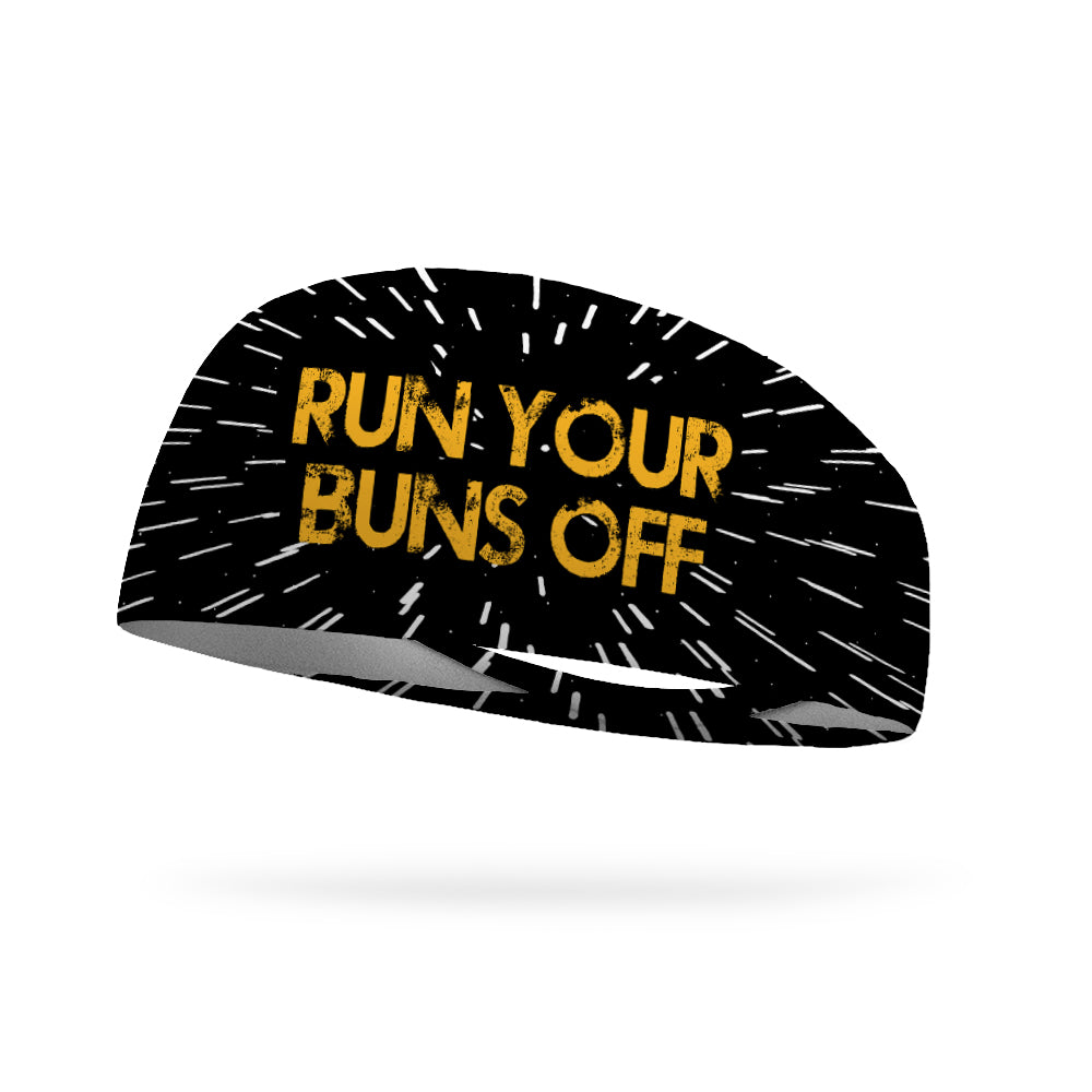 Run Your Buns Off Wicking Performance Headband