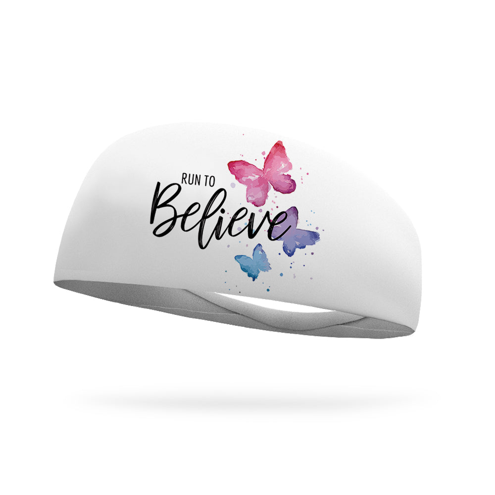 KristenGarzone Collection Run to Believe Wicking Headband