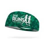 SRTT Clover Vines Wicking Performance Headband