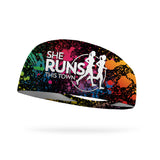 SRTT Color Run Wicking Performance Headband