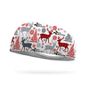 SRTT Reindeer Wicking Performance Headband