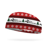 SRTT Rustic Christmas Run Wicking Performance Headband