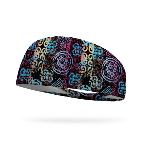 Tough Runs Don't Last Wicking Performance Headband (Designed by Darci Todd)