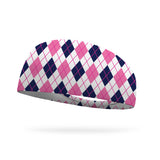 School Girl Plaid Performance Wicking Headband